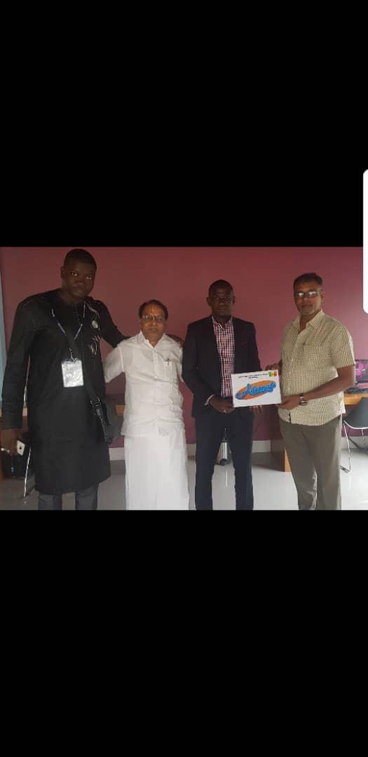 L'ADESMATS (Association des Maitres Tailleurs du Sénégal) invitée à la foire internationale du textile en Inde.