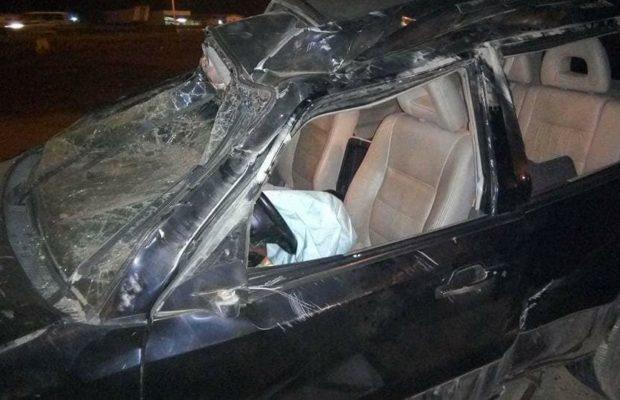 Violent accident à Fatick : Arona Coumba Ndoffène blessé dans un état très critique, son chauffeur décède, Madické Niang vient de suspendre sa caravane