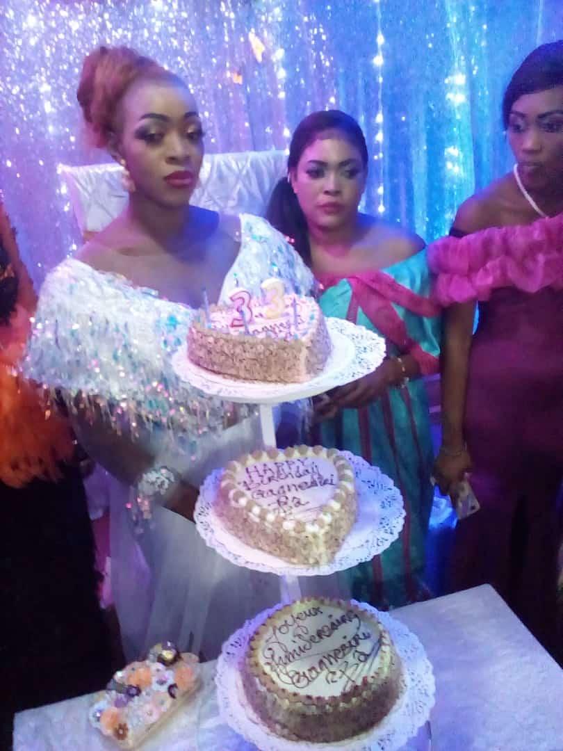 Ls images de l'anniversaire de la danseuse ,Gagnesiry Laobé: Oumou Sow et Djiby Dramé en guest star