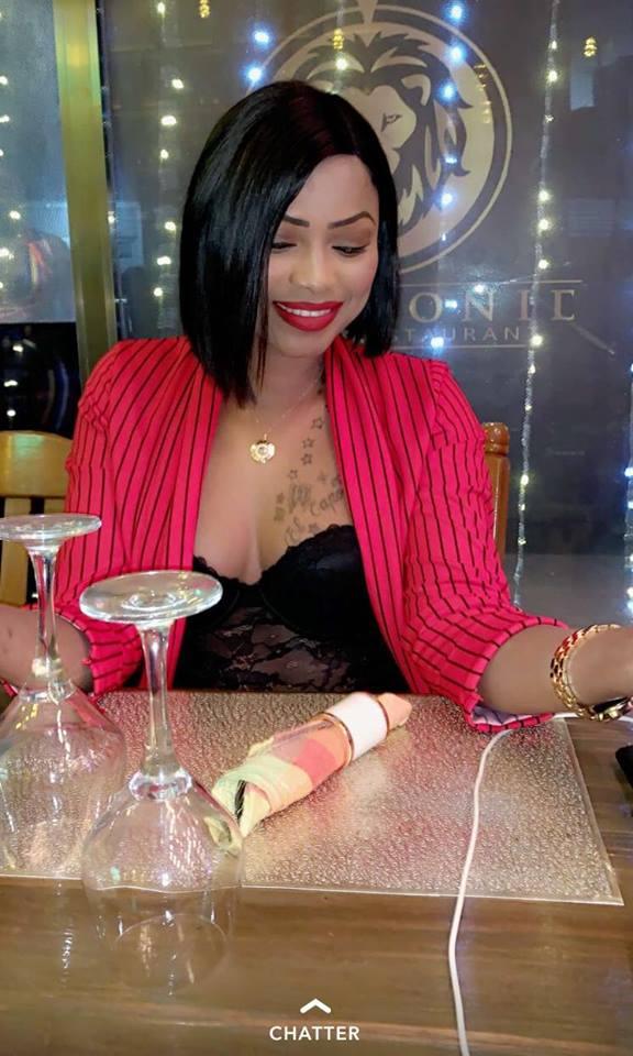 Mbathio Ndiaye, se montre encore sexy et provocatrice