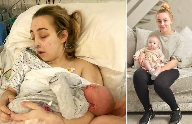 Plongée dans le coma, Ebony , une étudiante de 18 ans, se réveille avec un bébé… ignorant qu'elle était enceinte
