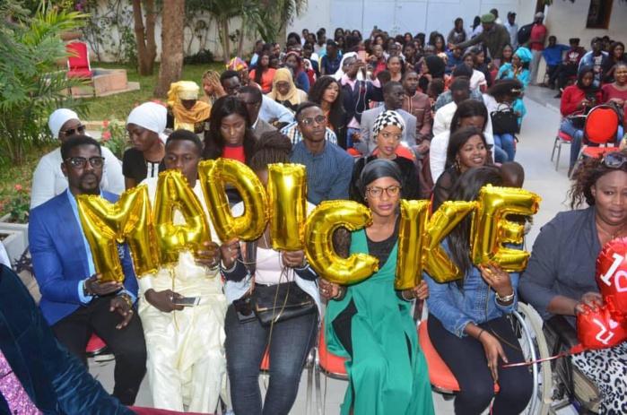 Photos : Madické Niang a son fan's club
