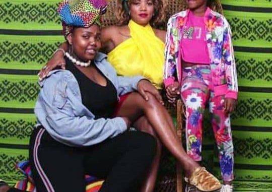 Valérie Bishop, la douce moitié d'El Hadj Diouf, complice avec ses filles