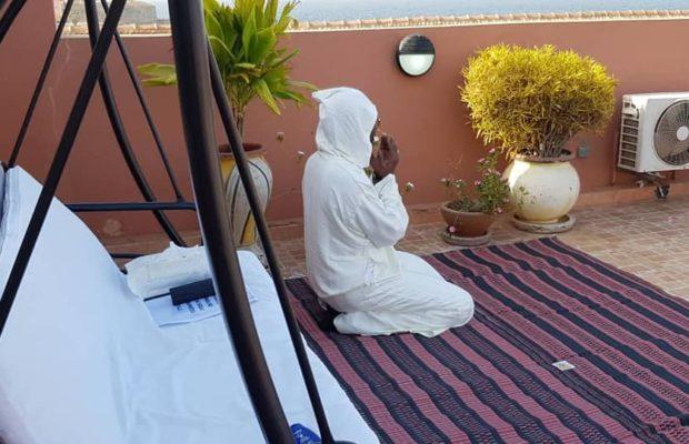 Retraite spirituelle de Serigne Modou Kara Mbacké à Gorée