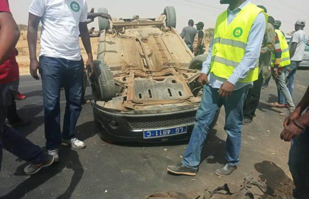 ACCIDENT : DEUX BLESSÉS GRAVES SUR LA ROUTE DE MPAL