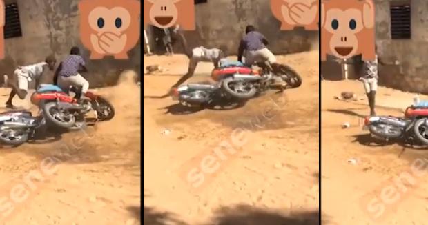 Accident : Un conducteur de moto Jakarta et son client tués sur le coup