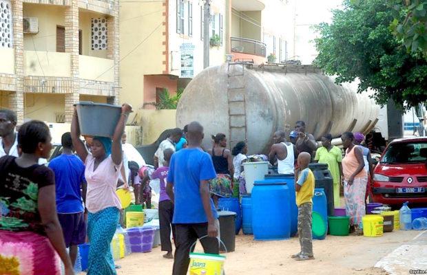ALERTE ! Dakar et ses environs sans eau pendant au moins 48 heures !