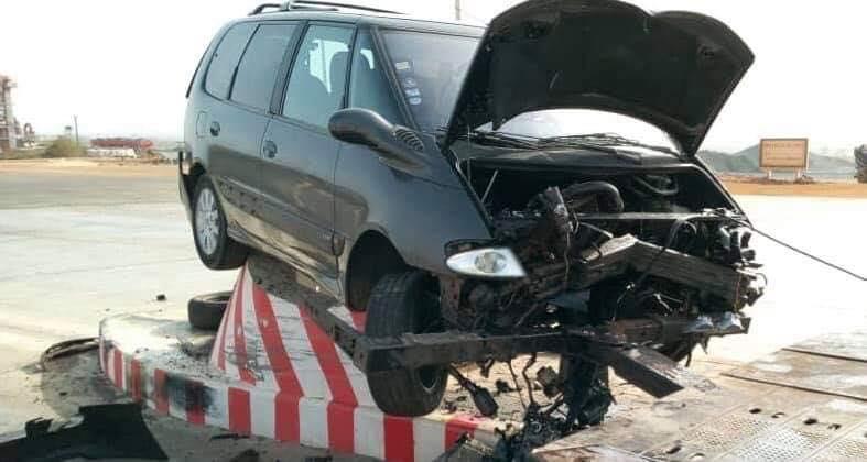 Autoroute à péage: l'accident le plus bizarre