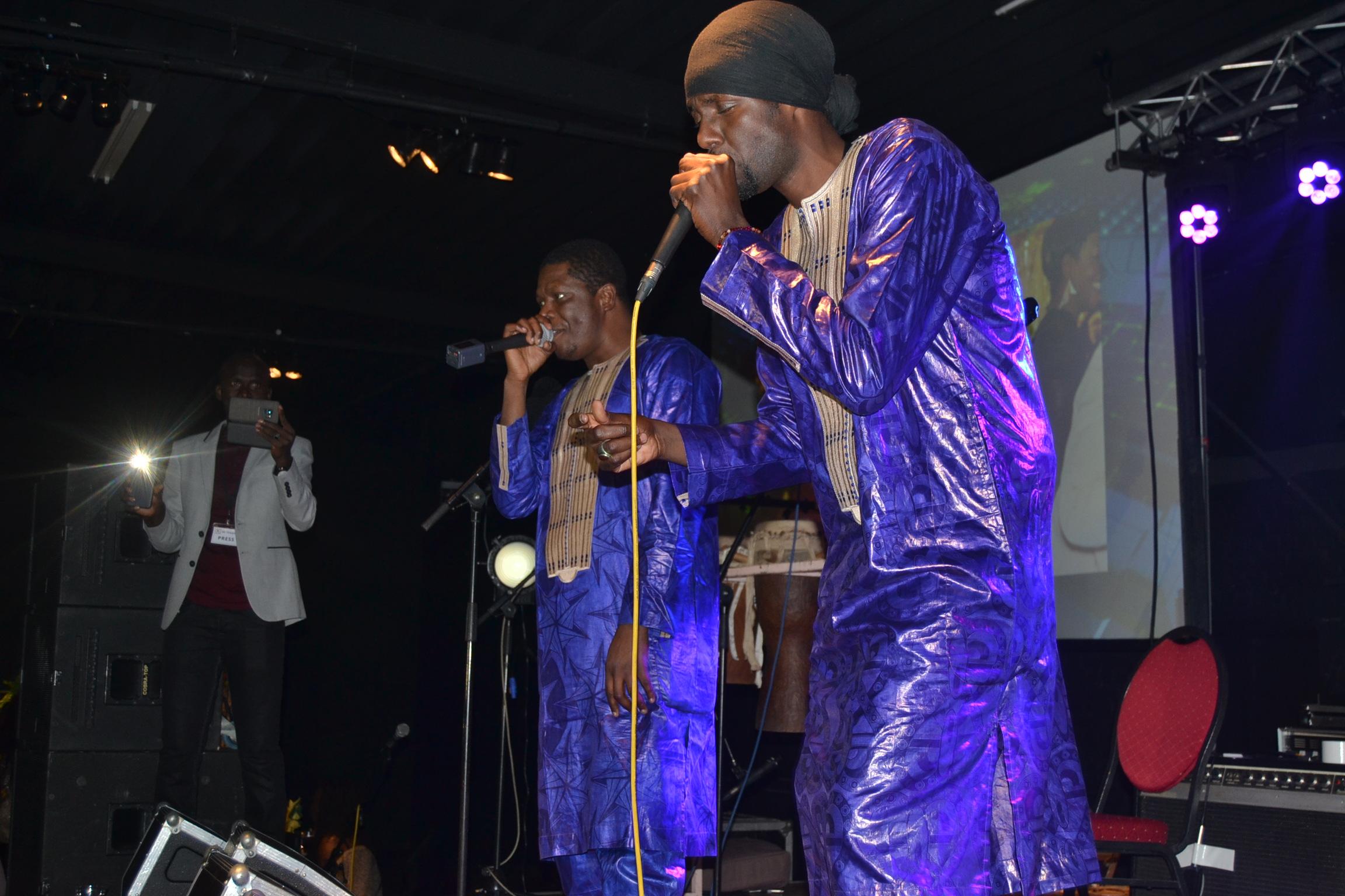 """Prestation du groupe """"BIDEW BOU BESS"""" à Bruxelles avec le BE TERANGA"""
