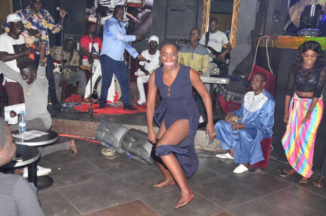 Les images de la soirée explosive en ambiance de Salam Diallo au Nirvana