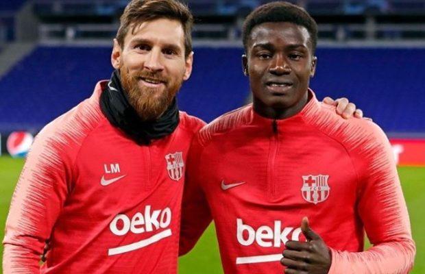 Liga : Moussa Wagué titulaire avec le FC Barcelone