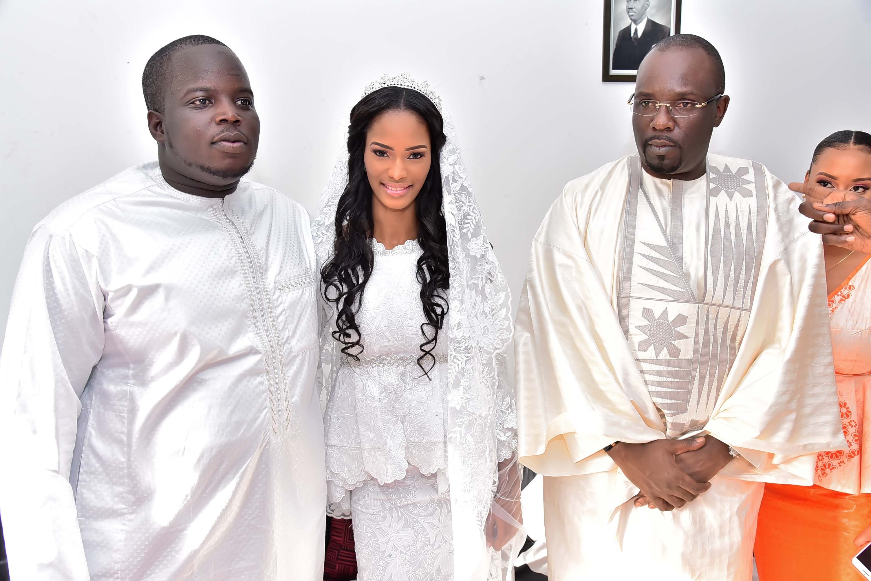 Mariage de Mamadou SECK fils de Amadou SECK DG de Eurogerm : Le chef de l'état marque sa présence à la mosquée