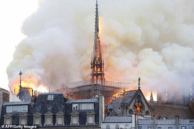 Les causes de l'incendie de Notre-Dame de Paris