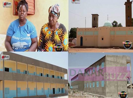 A Bambali: Sadio Mané est le héros de tout un village, Chaque famille reçoit une enveloppe de 50000(Franc CFA) Une école, Une mosquée, Un hôpital et un stade de football
