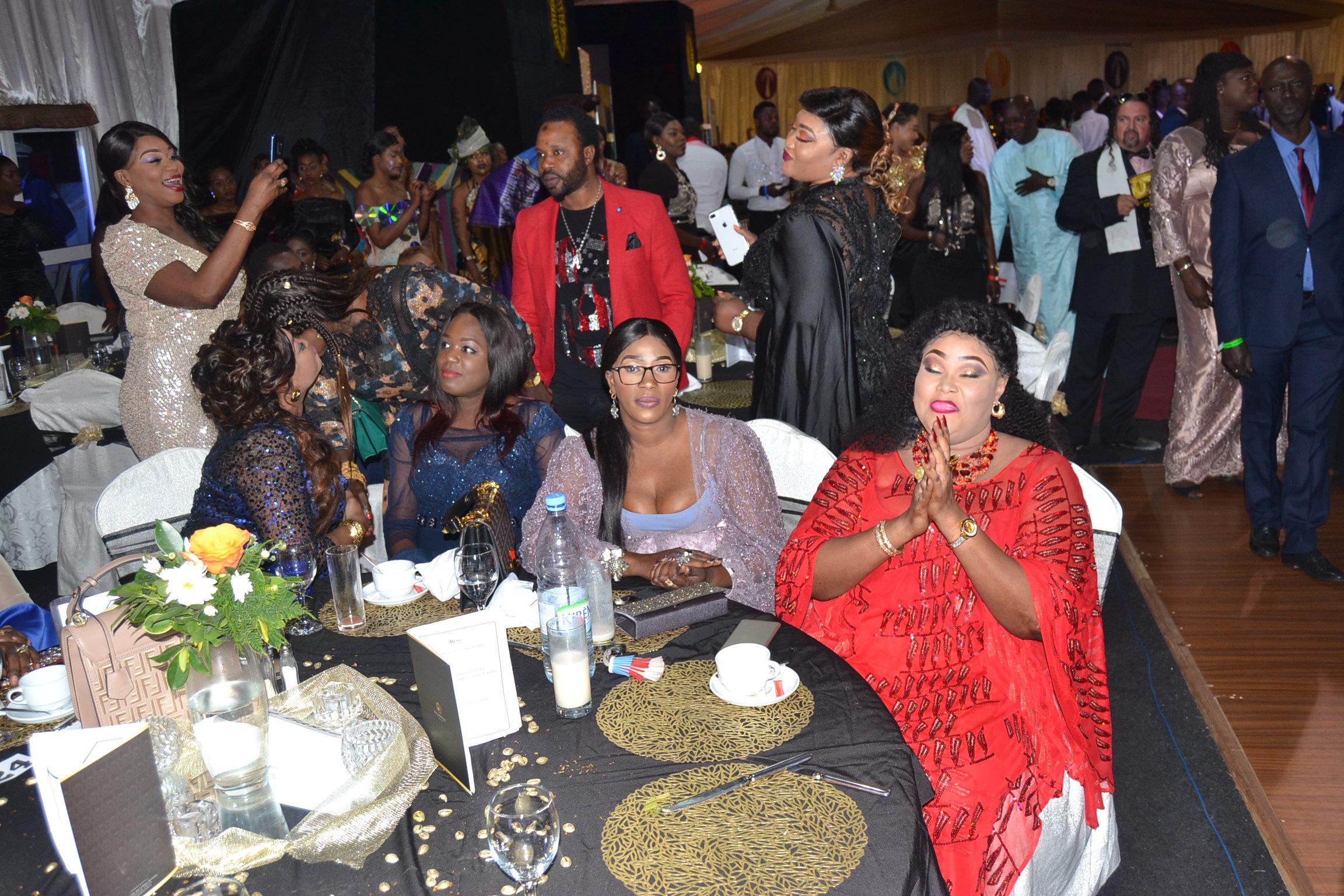 La 15 eme Cérémonie des remises des Cauris d'Or, l'incontournable prestigieuse de l'Afrique de l'Ouest.