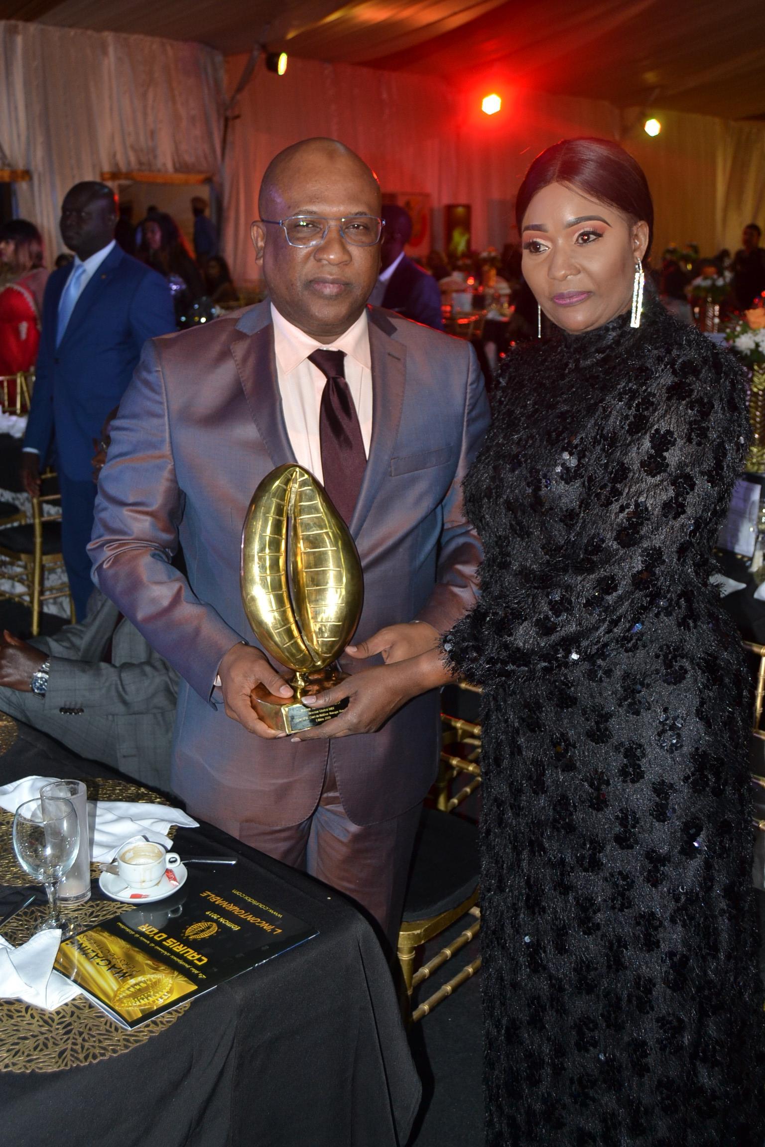 Cauris d'Or, Cauris du meilleur manager Homme: Thierno Seydou Nourou Sy, DG BNDE