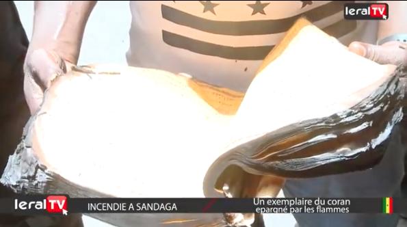 Miracle - Incendie à Sandaga: Un livre du coran épargné par les flammes