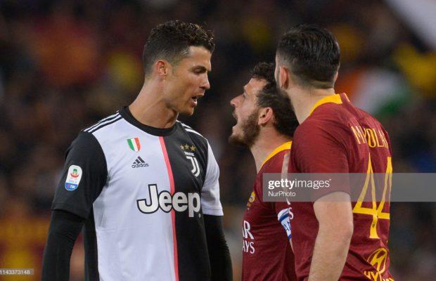 Vidéo : Ronaldo humilie Florenzi avec un geste totalement irrespectueux