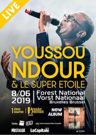 Report du concert de Youssou NDOUR au samedi 14 septembre 2019 à Forest National