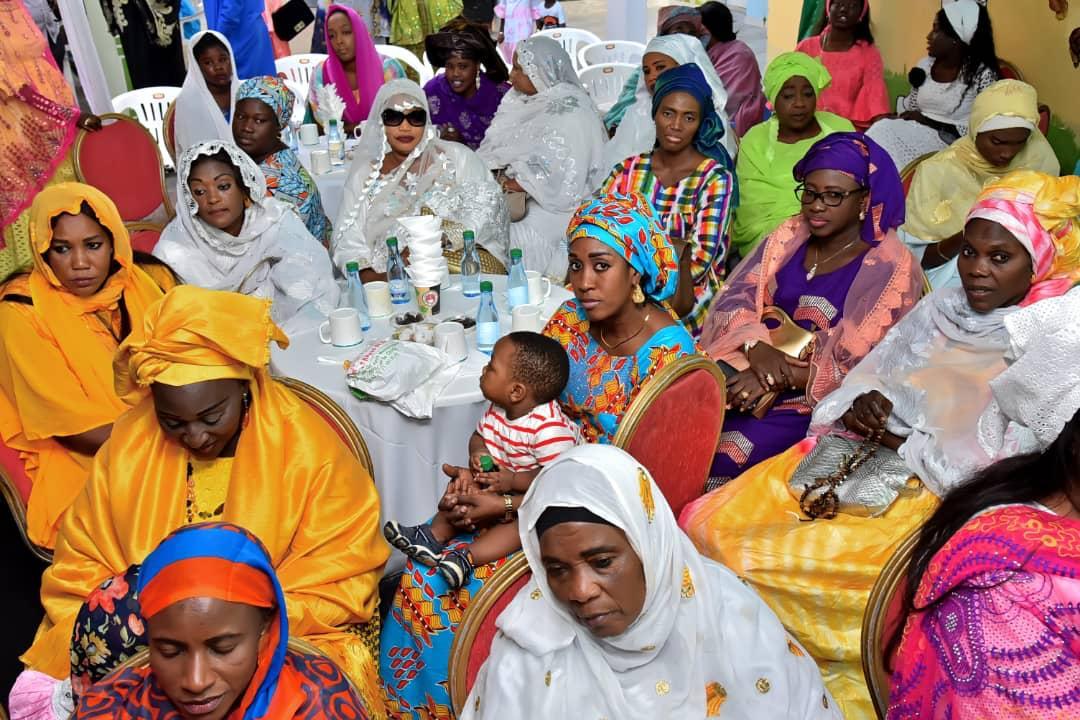 Traditionnel Ndogou EUROGERM au profit de l empire des enfants de Anta Mbow.