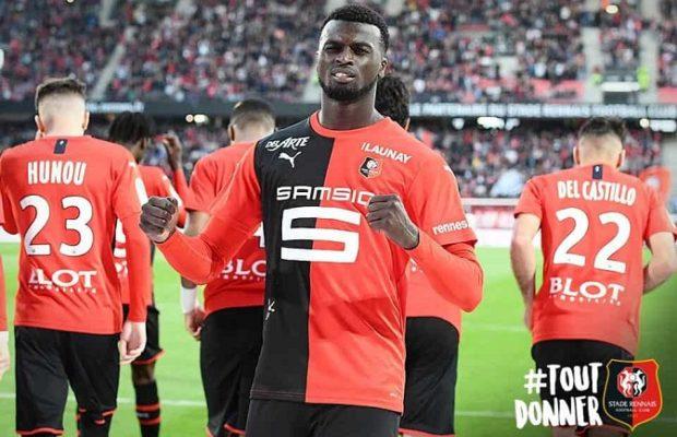 Résumé: Rennes bat Lille grâce à un doublé de Niang et un but de Sarr (3-1)