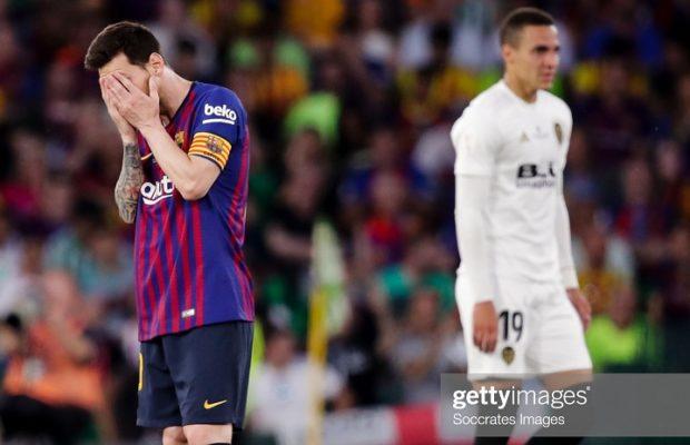 Coupe du Roi : Le FC Barcelone battu par Valence en finale