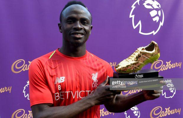 Soulier d'or – Sadio Mané dans le top 10 des meilleurs joueurs au monde, découvrez son rang !