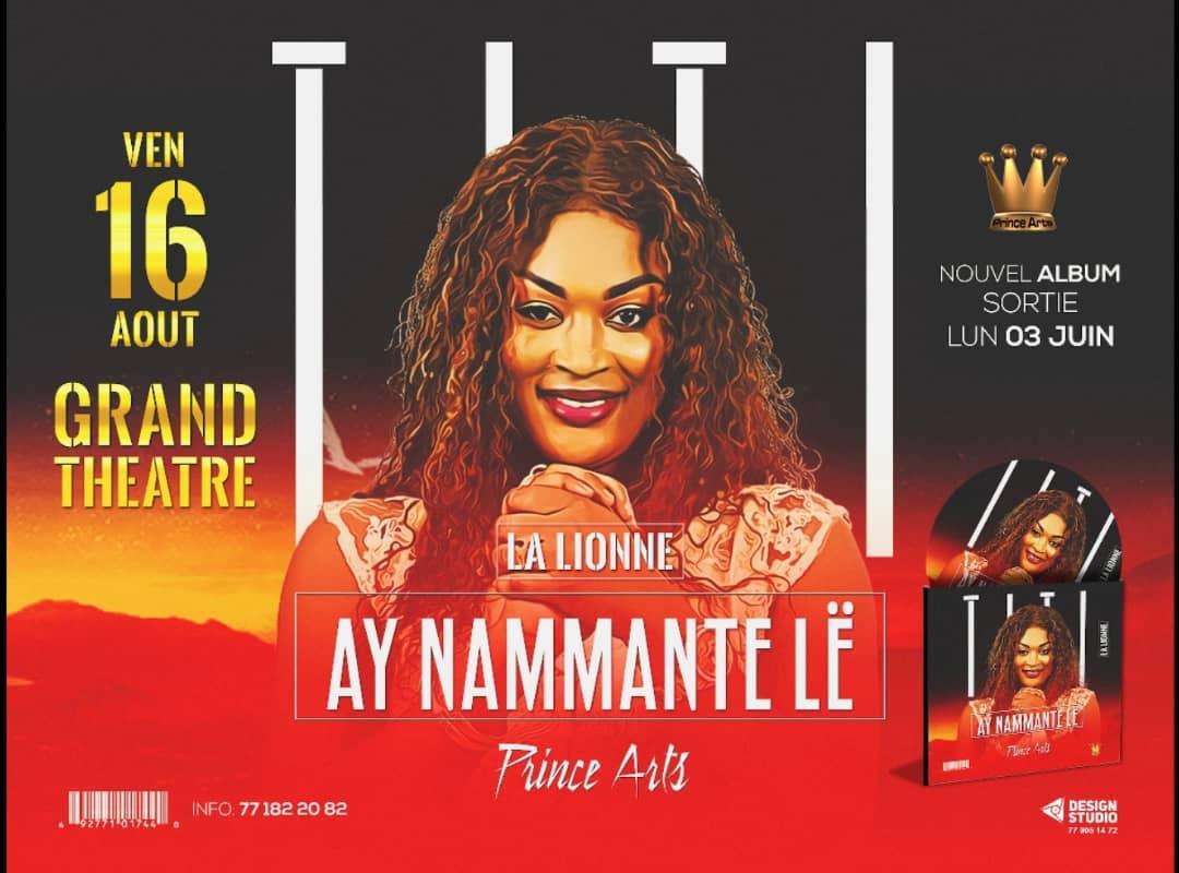 """EXCLUSIF: Titi la lionne """"Barri Bagacce"""" signe son retour le 03 juin avec un new album, le 08 Caserne Sapeur Pompier Rufisque, le 09 au Saaraba Night en live, le 15 Sam Prestige à Thies."""