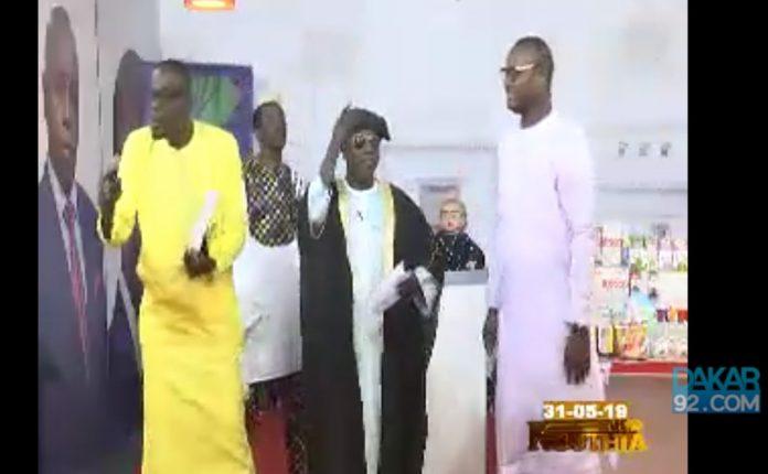 A la demande Générale Kouthia et Son équipe ont reçu Malick Diabou et Moustapha Rassoul