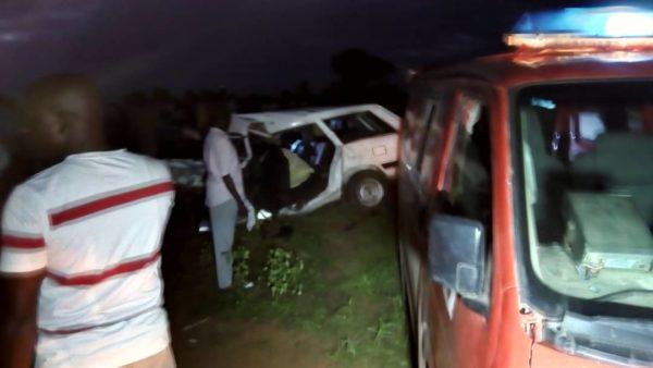 Urgent : Collision mortelle entre 2 véhicules particuliers à GANDON