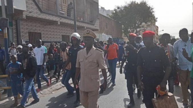 Le Sous-Prefet de Dakar au charbon Place de la Nation: « Il n'y aura rien »