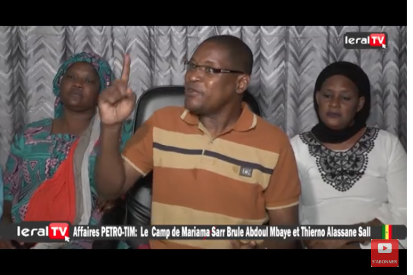 VIDEO - Affaire Petro-Tim: Lamine Ly accuse Abdoul Mbaye de haute trahison.
