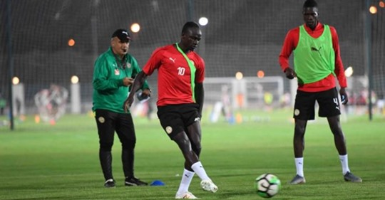 Vidéo- La grande forme de Sadio Mané et Mbaye Niang à l'entraînement des « Lions »