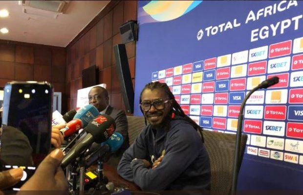 Aliou Cissé: « Je félicite les joueurs, ils ont su respecter les stratégies »