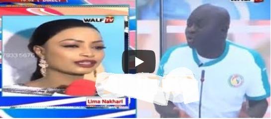Vidéo: Alioune Sow à Mbathio Ndiaye « Do référence, boul léne ko may Buzz »