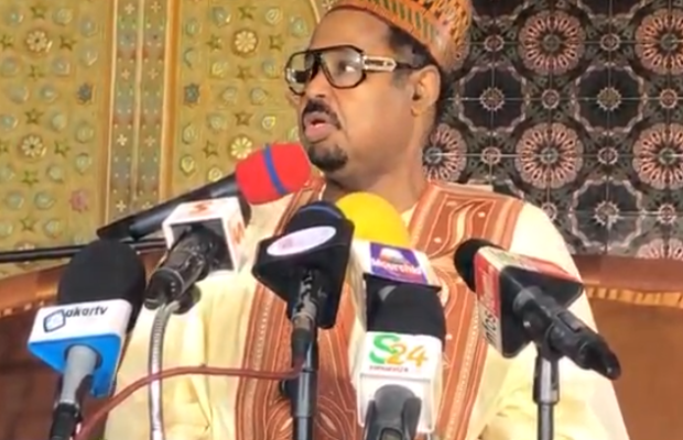 Vidéo Direct: Point de Presse Ahmed Khalifa Niasse, Sonko fait un appel à pied, je demande à Macky Sall de porter plainte contre Mayni Jonshon de la BBC