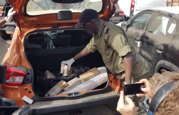Port de Dakar : Les images des 238 kg de cocaïne saisis