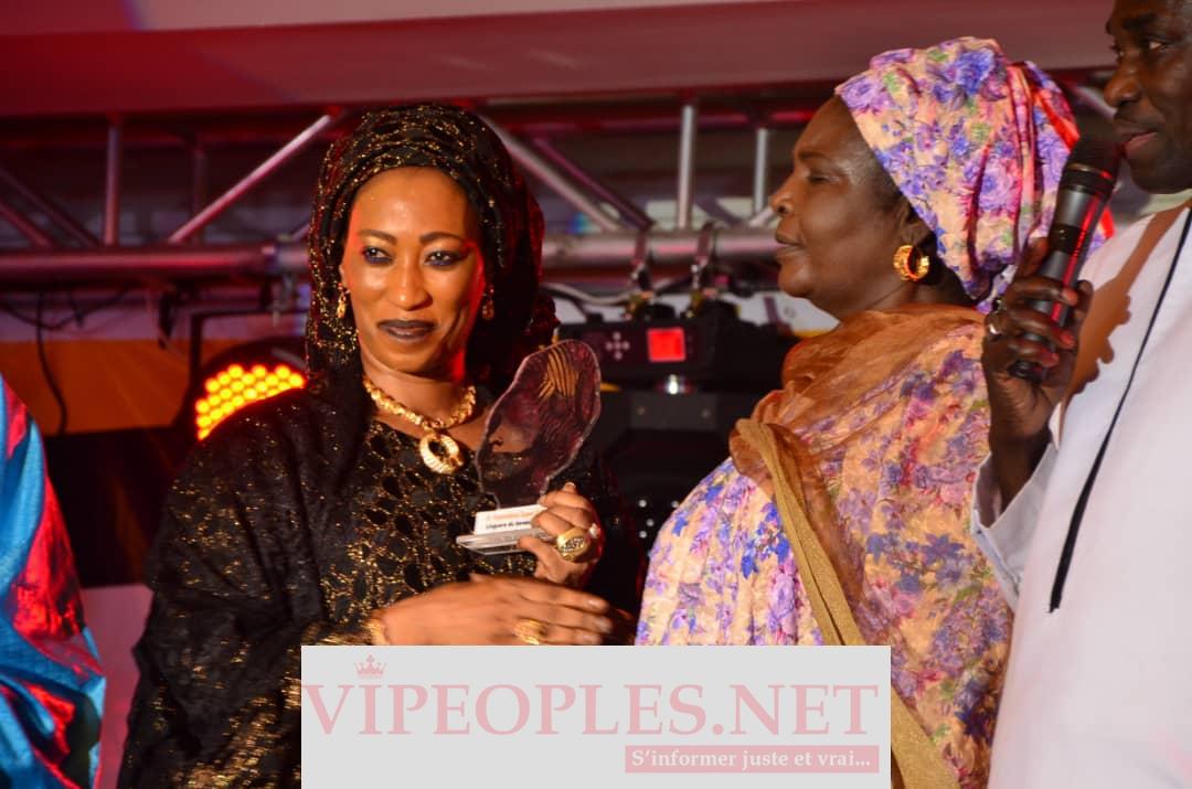 Mme Seynabou Gaye Toure, Pdte conseil départemental de Tivaoune donne son point de vue sur Chant des Linguére
