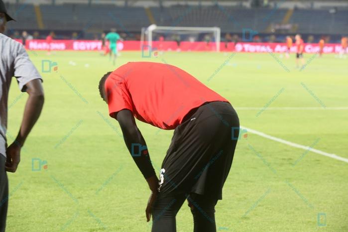 Dernière minute : Le gardien Edouard Mendy s'est blessé à l'échauffement d'avant Sénégal-Kenya