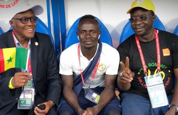 Sadio Mané sur la CAN: « Même quand tu veux boire de l'eau, les défenseurs te suivent »