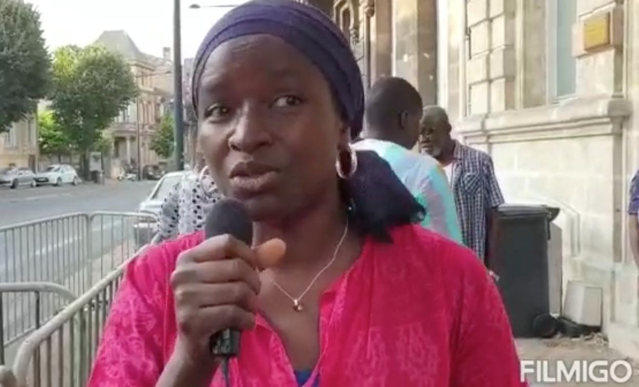 Les Sénégalais de Bordeaux exigent leur Consulat et dit NON à sa fermeture. TOUCHE PAS À MON CONSULAT.