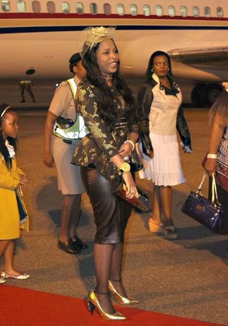 Les 14 épouses du roi Mswati III