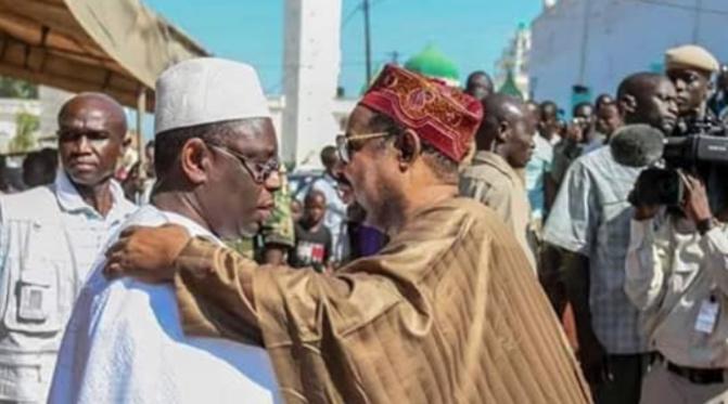 Fass Delorme: Macky Sall chez Ahmed Khalifa Niasse pour …