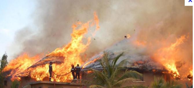 Série d'incendies mystérieux à Ndiogobe Ndiaye: les populations appellent l'Etat au secours