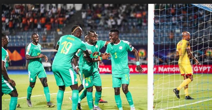 Dmi-finale CAN; Le Sénégal ouvre le score 1 but à 0 face à la Tunusie.