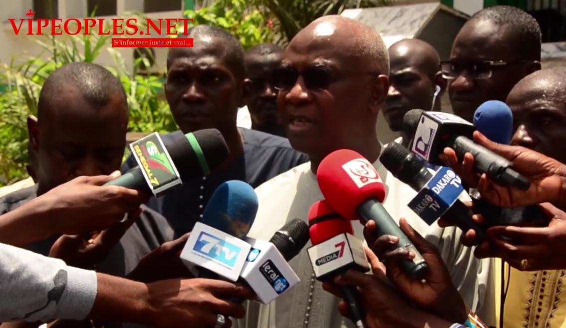 Décès d'Ousmane Tanor Dieng, la chaude réaction de Serigne Mbaye Thiam