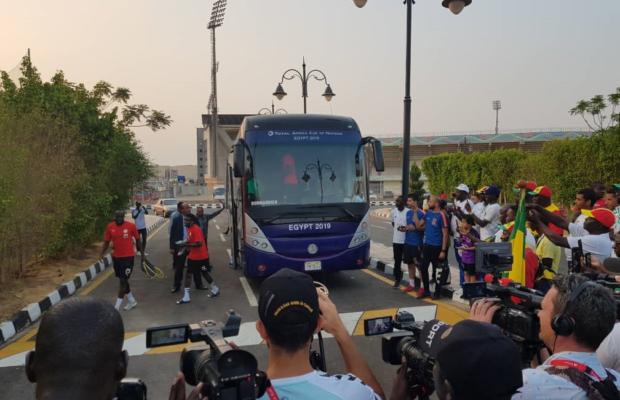 CAN 2019 : 7 Lions à l'entraînement au lendemain de leur qualification