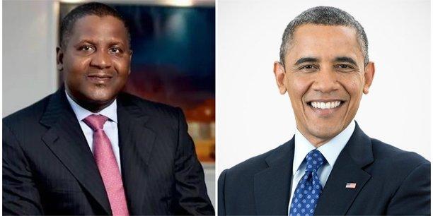 Philanthropie : Dangote offre un million de dollars pour la construction du Barack Obama Presidential Center