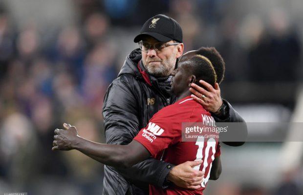 """""""Sadio Mané aura un début difficile en Premier League"""" (Jurgen Klopp)"""
