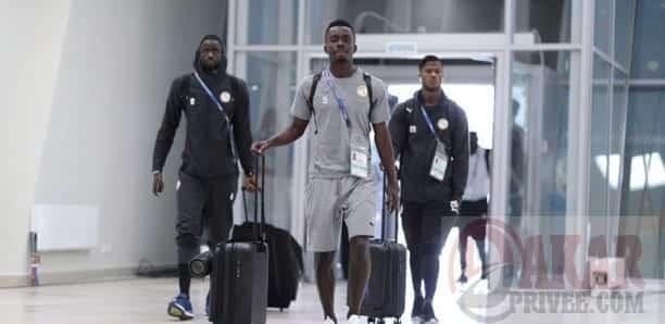 """Aéroport de Yoff : Les """"Lions"""" ont atterri"""